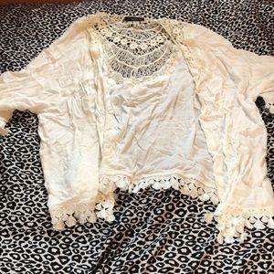White kimono from SHEIN